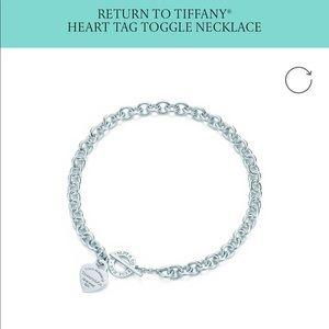 ISO: Tiffany heart tag toggle necklace